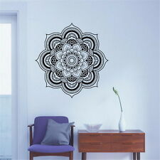 Mandala Wall Sticker Art Decal Removable Flower Vinyl Decor Indian Style