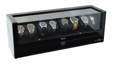 Pangaea Quad Eight Automatic 8 Watch Winder Japanese Mabuchi Motor LED Lights