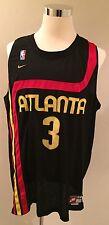 Rare NBA Nike Throwback Atlanta Hawks Shareef Abdur-Rahim Basketball Jersey 3XL