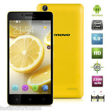 5.0'' Lenovo LEMON K30-W Cellphone Android4.4 Quad Core 16GB 2XSIM Smartphone EU