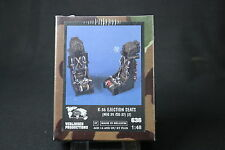 ZA601 VERLINDEN PRODUCTIONS K-36 EJECTION SEATS MIG 29 SU-27 2 unit Ref 413 1/48