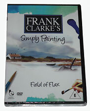 FRANK CLARKE'S - Simply Painting - Field of Flax  - DVD - NEW IN SEALED BOX