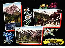 Gruss aus Garmisch-Partenkirchen , Obb. , ungel. AK.