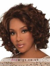 100% Real Hair Beautiful Sexy Short Brown Curly Wig For Women Human Hair New