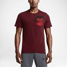 Nike FC Barcelona bonded pocket tee in 100% cotton - adult small