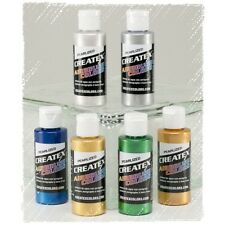 Createx Classic Airbrush Color | 6 x 60ml | Perlmutt Set Art.Nr.115399