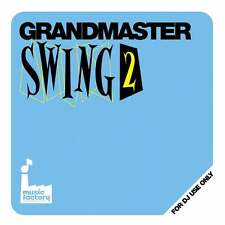 Mastermix Music Factory Grandmaster Swing Party Vol 2 DJ Megamixed Music CD