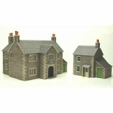 PO250 00 Manor Farm House Mecalfe Self build Model Rail Kits