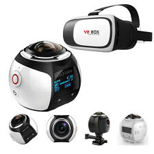 360° Ultra HD Virtual Reality Camera Waterproof Outdoor with VR Headset