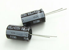 3pcs NICHICON  68uF 420V 16x25 PZ High Voltage Electrolytic Capacitor 68UF 420V