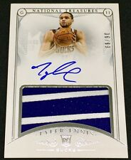 TYLER ENNIS 14-15 Panini National Treasures LOGO PATCH AUTO ROOKIE RC SP #06/99!