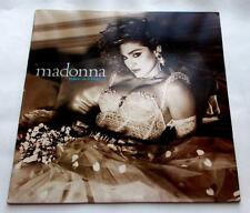 "Madonna  Like A Virgin 1984  Sire W1-25157  Pop  33 rpm  12"" Vinyl LP Strong VG+"