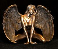 Nemesis Now ANGELS PASSION SCULPTURE Woman Naked Nude Angel Fairy Girl