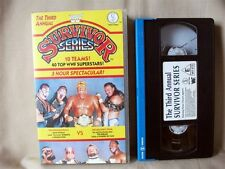 The Third Annual WWF SURVIVOR SERIES; VHS Wrestling Video; Hulk Hogan etc.