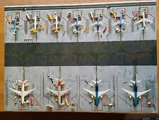 1/400 Model Airport Mat Narrow and Widebody ground layout mat A1
