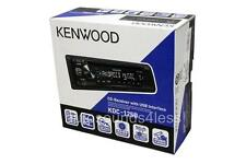 Kenwood KDC-125U CD/MP3/WMA Player iPod Android Compatible Front USB AUX