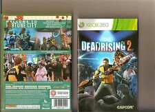 DEAD RISING 2 XBOX 360 / X BOX 360 ZOMBIES RATED 18