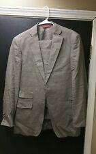 Bianco Brioni Loro Piana Men's Linen Suit 36R Jacket/ 30R Trousers