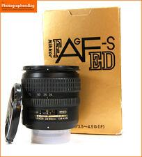 Nikon 24-85mm f3.5-4.5 AF-S G ED Lens + Free UK Postage
