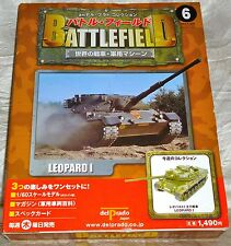 Delprado Battlefield 1/60 German Leopard 1 Tank, Resin Model