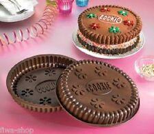 2 tlg. Set Silikon Backform Keks Silikon Backform Motiv Riesen Jumbo Cookie