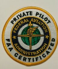 Embroidered Pilot Patch: Private, Instrument,Commercial Rating (specify which)