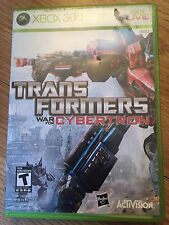 Transformers: War for Cybertron Microsoft Xbox 360 Complete Nice W2