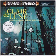 CLAIR DE LUNE: Agoult RCA LIVING STEREO LSC-2326 Classic Records 45 4xLP