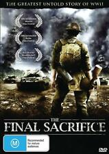 THE FINAL SACRIFICE - CLASSIC WAR FILM - NEW & SEALED DVD - FREE LOCAL POST