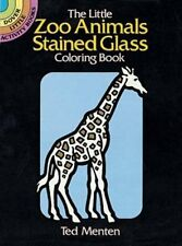 Coloring Book for Adults Small Page Giraffe Painting Anti Stress Activity Relax