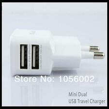 5V 2A Dual USB AC Wall Travel Charger Power Adapter for Iphone, Ipad, Samsung