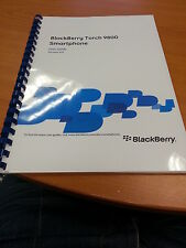 BLACKBERRY TORCH 9800 FULL PRINTED USER GUIDE INSTRUCTION MANUAL 327 PAGES