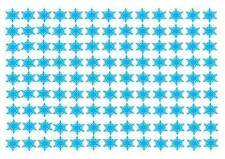 Christmas Snowflakes STAND UP Cupcake Fairy Cake Topper Edible Rice Decorations