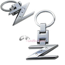 Chrome Finishing Letter Z Key Chain Ring For Nissan 280ZX 300ZX 350Z 370Z Z Car