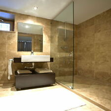 CLASSIC HONED FILLED TRAVERTINE TILES 40.6x40.6cm FOR WALL&FLOORS £13.99 PER SQM