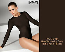 WOLFORD New York String Body • XS • mocca • BNiB  ...Seamless knitting technique