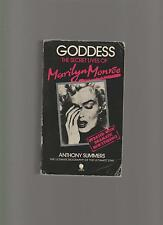 GODDESS - THE SECRET LIVES OF MARILYN MONROE - ANTHONY SUMMERS with photos