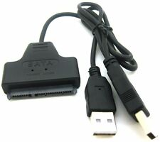 "ADMI USB 2.0 to 2.5"" SATA 22P Hard Drive Adapter Cable Converter (Black)"