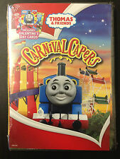 Thomas & Friends - Carnival Capers (DVD, 2010, With 3 Valentine's Day Cards)