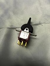 C&K #7411 MINIATURE TOGGLE SWITCH  4PDT ON-ON-ON   PANEL MOUNT