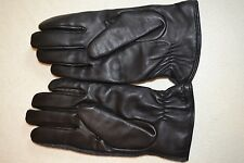 Paul Smith PS Leather Wool Gloves Cashmere Lined Mens Brand New