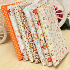 Orange Series 7 Assorted Fabric Square Cotton Quilt Cloth Decor Pattern 50*50cm
