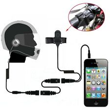 Helmet Headset Earpiece for Cell Phone Samsung iphone HTC Blackberry Google LG