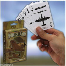 PLAYING CARDS WORLD WAR II 2 SPOTTER  ENEMY FRIENDLY ROTHCO 577