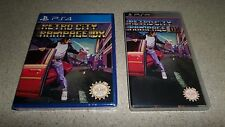 Retro City Rampage DX Sony PS4 PSP UMD Case Limited Edition #726 PS3 Vita NEW