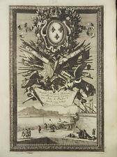 JEAN LEPAUTRE 6x RADIERUNG ITALIENISCHE TROPHÄEN ITALIAN TROPHY ETCHING 1660 I57