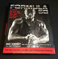 "50 CENT Signed Autographed ""Formula 50"" Book, First Edition, Curtis Jackson"