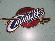 """NBA CLEVELAND CAVALIERS JACKET PATCH EMBROIDERED 8"""" IRON-ON EMBLEM"""