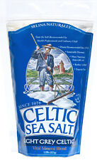 CELTIC SEA SALT ~ COARSE LIGHT GREY ~  3 BAGS