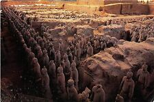 BG9694 the great hall museum of qin terra cotta warriors and horses   china